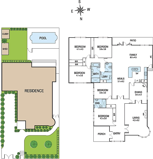Good Feng Shui House Plans