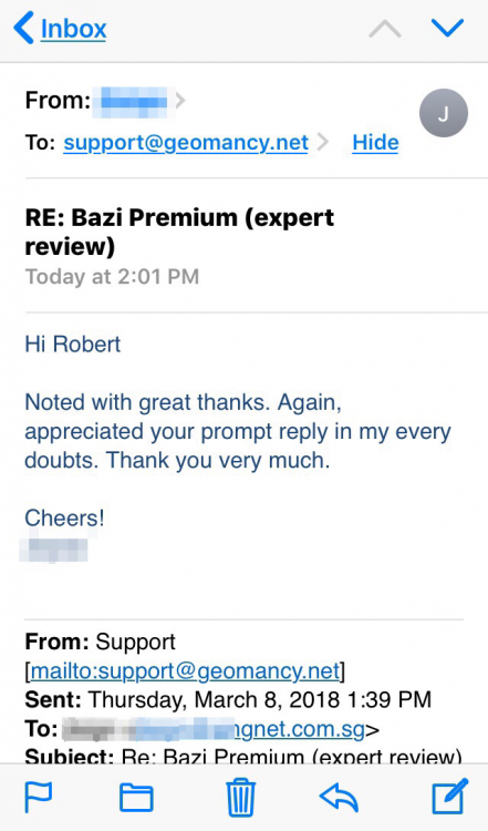 Re: THanks for your quick response - much appreciated. :)