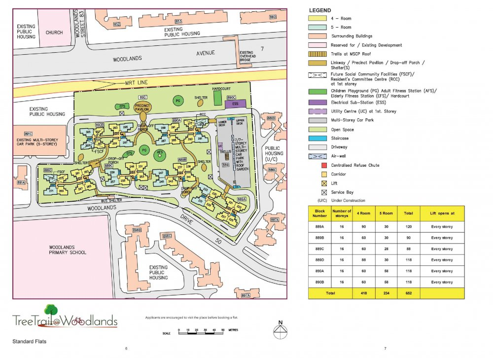 Hdb Treetrail Woodlands Bto Launched In September 2012