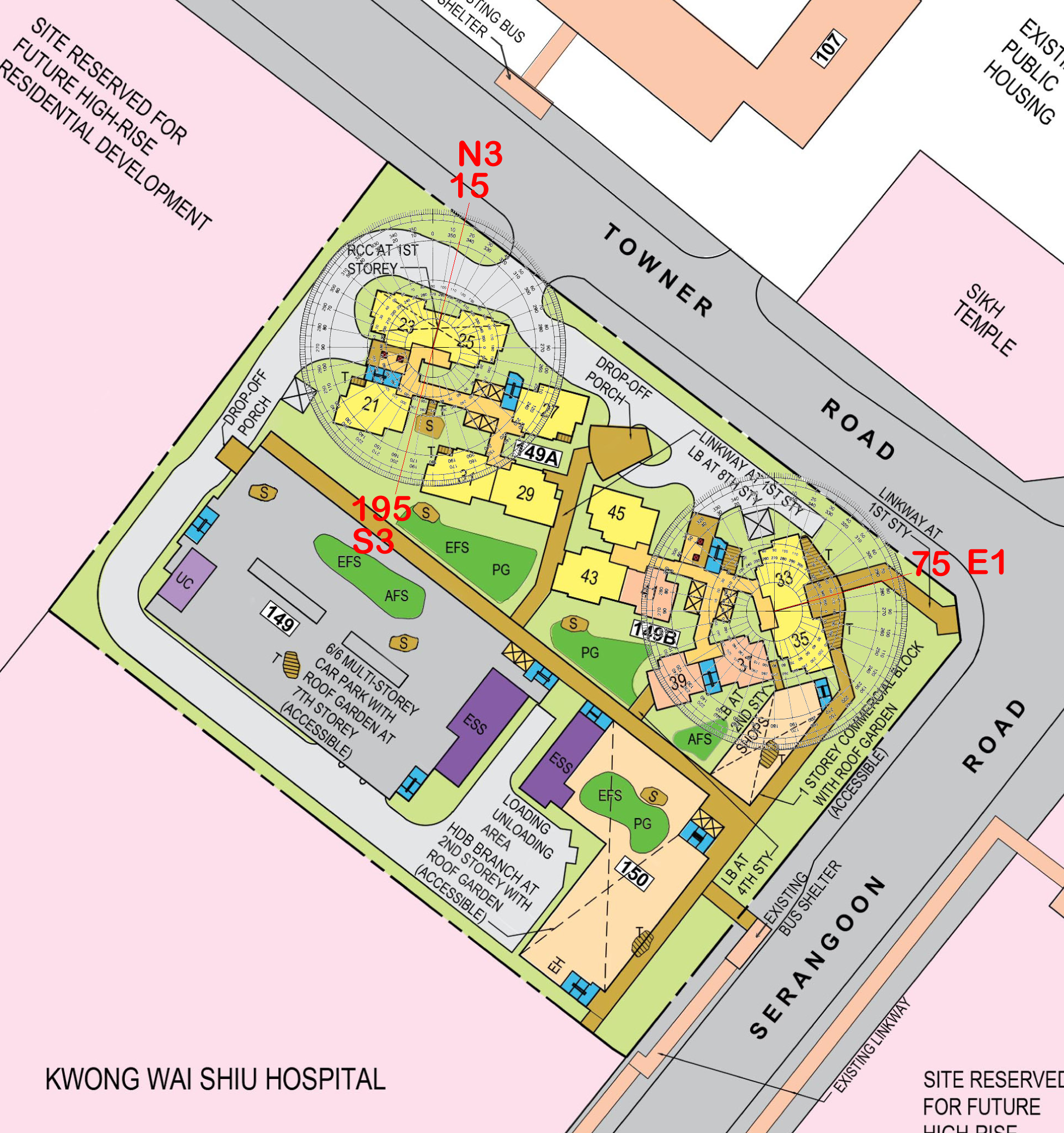 HDB Towner Crest BTO launched in February 2019 + a hospital? Where's